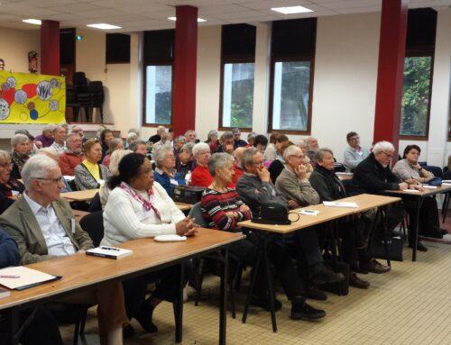 140 personnes ont participé aux 20 ans de Parvis et à l'Assemblée Générale à la Clarté-Dieu -Orsay- 15,16,17 novembre 2019